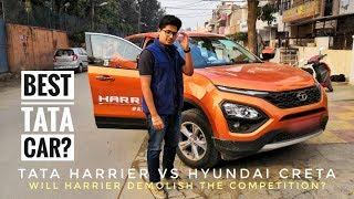 Tata Harrier vs Hyundai Creta | Should you even consider Creta? | Best SUV? | Test Drive and Review