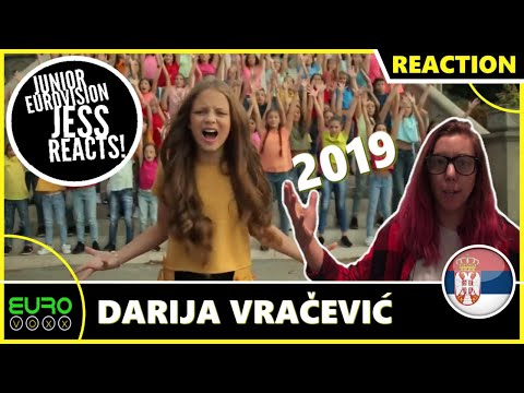 SERBIA JUNIOR EUROVISION 2019 REACTION: Darija Vračević - Raise Your Voice | JESS REACTS!