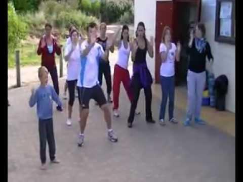 Petite Chorégraphie Sur Camping Paradis fiesta Boom Boom video
