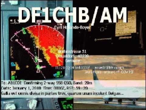 14325 kHz - QSO between DF1CHB/AM and SV/LA3IPA/MM - 23rd June 2012