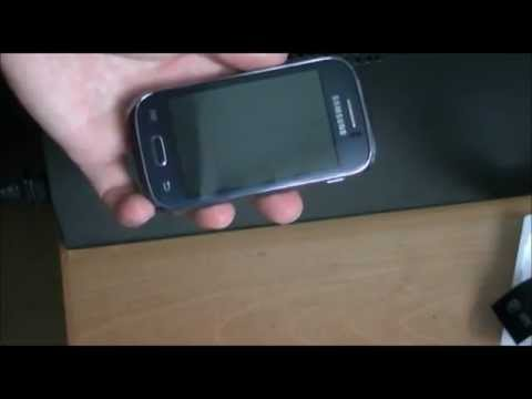 samsung galaxy young GT-S6310N unboxing ( S6310 )