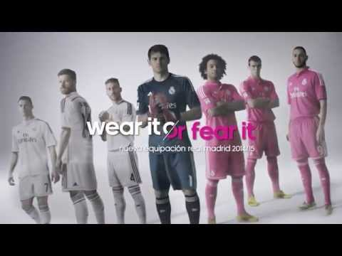 New adidas Real Madrid 2014/15 kit. Wear it or fear it - ORIGINAL SPOT