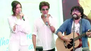 download lagu Shahrukh & Anushka Live Performance On Hawayein Song Jab gratis