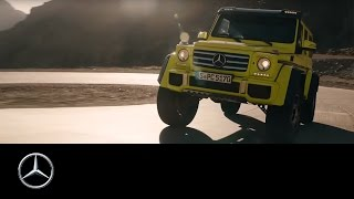 Mercedes-Benz G500 4x4²: Expecting the new show car G 500 4x4²