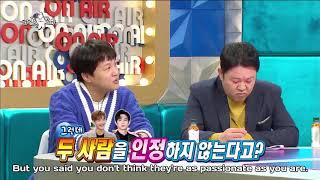 [ENG SUB] Yunho mentions Super Junior Siwon as the one of SM passionate