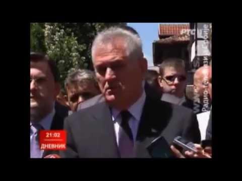 Tomislav Toma Nikolić izviždan na Gazimestanu 28. juna 2014.