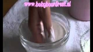 Baby 3D handjes en voetjes maken