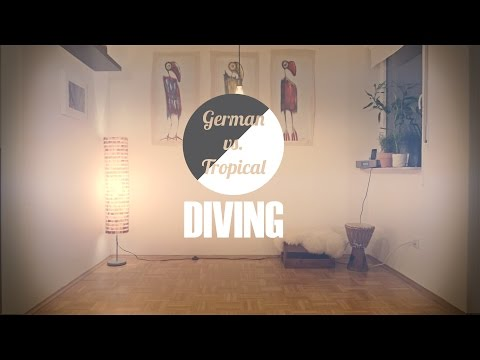 German Cold VS Tropical Warm Diving (Panasonic GH4)
