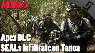 SEALs infiltrate on Tanoa - ARMA 3 - Apex DLC - Tanoa Campaign #1