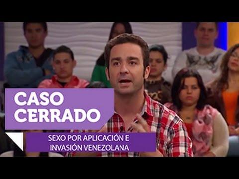 Sexo por aplicación e invasión venezolana. Caso Cerrado (VIDEO)