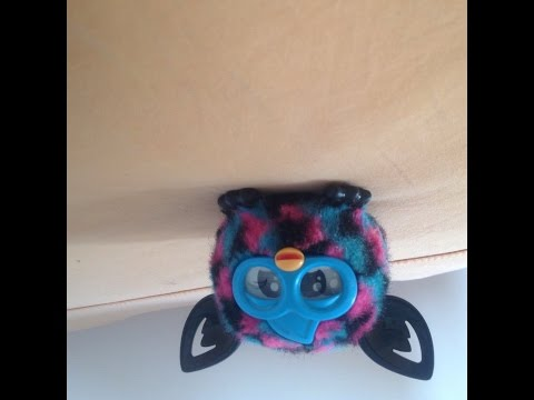 Review brinquedo furby filhote (baby furby)