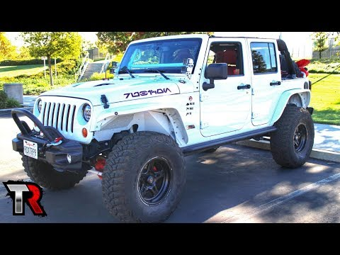 Awesome Custom 2013 Jeep Wrangler Review - Rig Walk Around Ep. 4