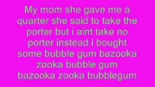 download lagu Bazooka Bubble Gum gratis
