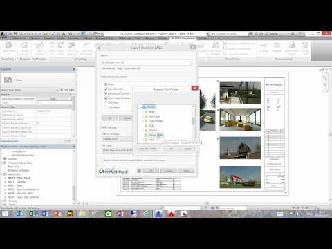 GRAITEC PowerPack for Autodesk Revit - Export Sheets to DWG