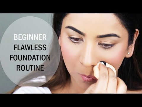 STEP-BY-STEP BEGINNER FLAWLESS FOUNDATION ROUTINE
