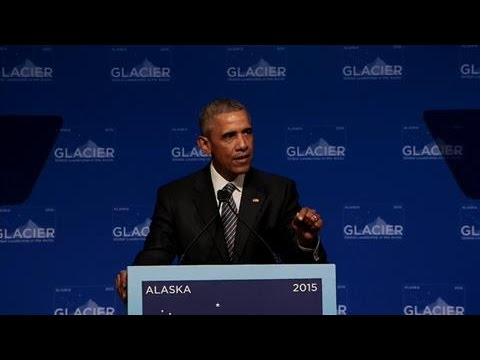 Obama Speaks on Climate Change in Alaska
