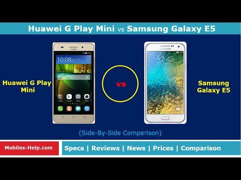 Huawei G Play Mini vs Samsung Galaxy E5 (Side-By-Side Comparison)
