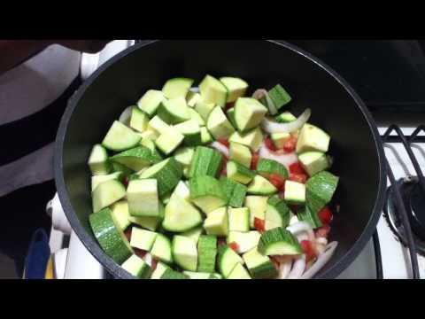 Recetas vegetarianas: Calabacín con queso - ideas vegetarianas