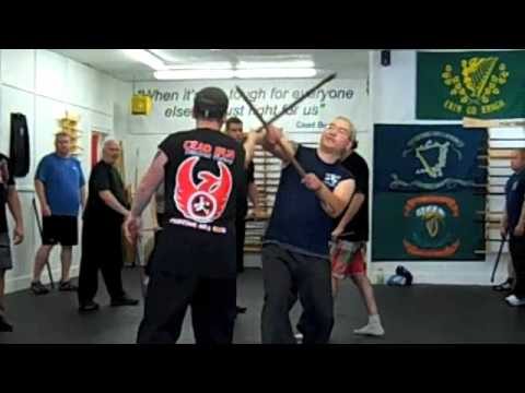 Stil Ui Dhubhghaill - Doyle Clan Irish Stick Fighting (Various) Bataireacht Image 1