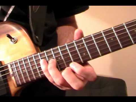 Canon Rock Solo Melody Guitar Lesson Part 1