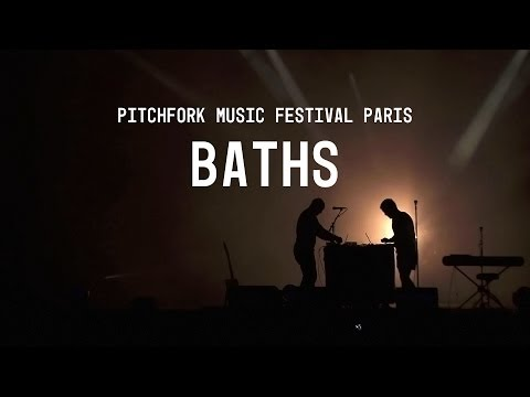 Baths FULL SET - Pitchfork Music Festival Paris