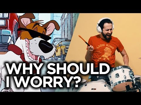 Why Should I Worry - DISNEY (Oliver & Company) Cover by Jonathan Young