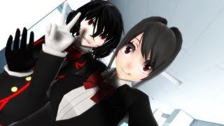 MISSION MODE: MESSING WITH INFO-CHAN | YANDERE SIMULATOR MMD | MMD SHORTS
