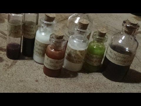 ASMR- DIY Quack Medicine Bottles
