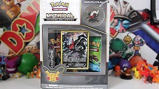 Opening The Best Darkrai Mythical Collection Box!!