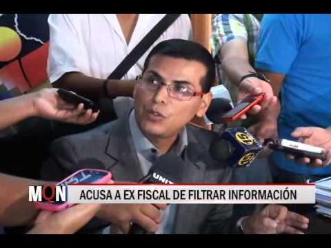 21/01/2015-19:14 ACUSA A EX FISCAL DE FILTRAR INFORMACIÓN