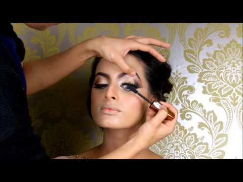 Asian bridal Makeup tutorial  by Shabana M Makeup 2015