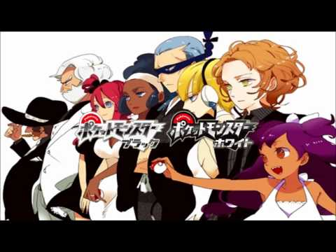 Pokémon Black And White Gym Leader Battle Music video
