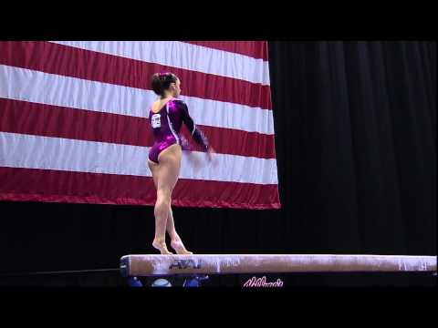 Jordyn Wieber - Beam - 2012 Visa Championships - Sr. Women - Day 2
