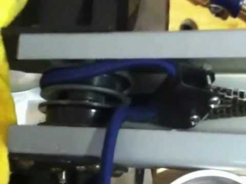 Concept 2 Model E >> Bungee Shock Cord Replacement Video for Concept2 Erg Model C Model D Model E - YouTube
