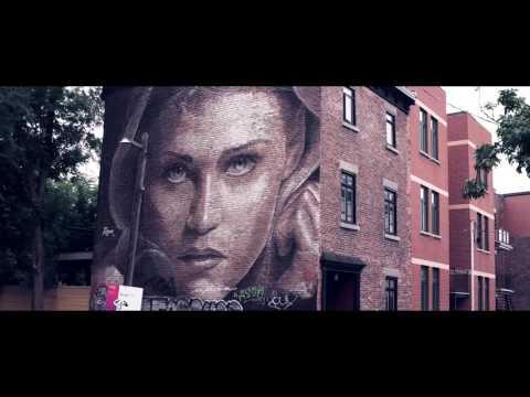 Montreal street art | Mural Festival 2016 [4K] - What's up on Earth