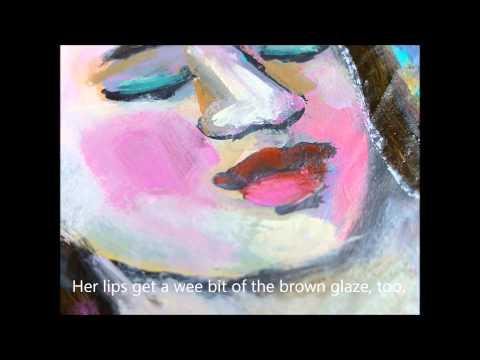 Glazing with Acrylic Paint - tutorial