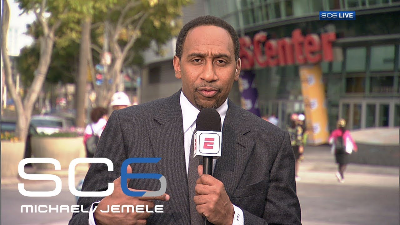 Stephen A. Smith previews Lonzo Ball's NBA debut in Clippers vs. Lakers | SC6 | ESPN