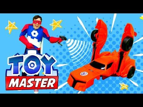 Той Мастер и Трансформеры в парке развлечений! Видео с машинками.