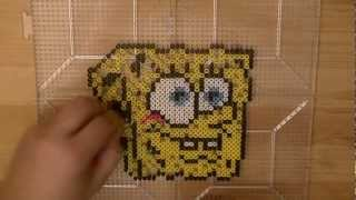 PERLER BEAD: SpongeBob SquarePants! (Giveaway #49) Tutorial & How To