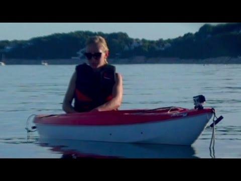 Great white shark attacks kayakers