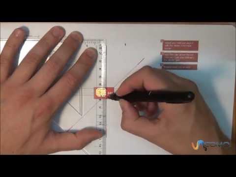 Transformar la SIM en un nano SIM para iPhone 5