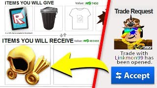TRADING WITH THE RICHEST PLAYER IN ROBLOX! (1 MILLION ROBUX!)