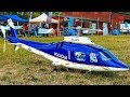 AGUSTA A-109 AMAZING RC SCALE MODEL ELECTRIC HELICOPTER WITH SOUND MODULE FLIGHT DEMONSTRATION