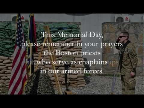 Video Tribute to Boston's Military Chaplains