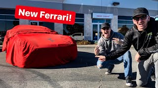 NEW SUPERCAR! BUYING MY DREAM V12 FERRARI...