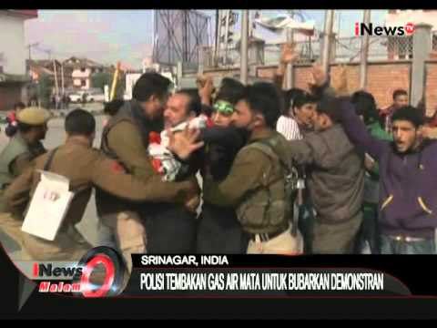 Polisi Tembakkan Gas Air Mata Saat Demonstran Ricuh Di India - iNews Malam 22/10
