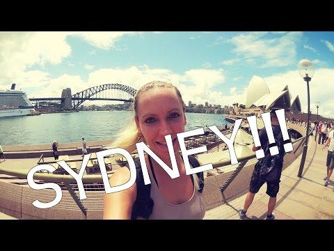 WIR SIND IN SYDNEY! | Weltreise Vlog - Nr. 45 | Australien, Sydney