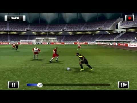 PES 2012 Android - Um dos melhores jogos de futebol mobile #gameplay - Android Zone Blog