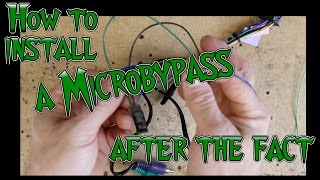 How to install a Microbypass if your harness is all ready installed
