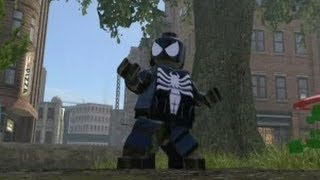 LEGO Marvel Super Heroes (PS4) - All Spider Man Characters & Vehicles (DLC Included)